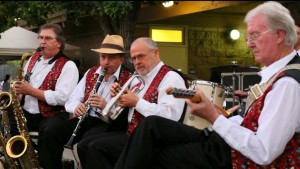 Magnolia Jazz Band in Cupertino  2012