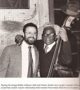 Robbie Schlosser and Chester Zardis, New Orleans