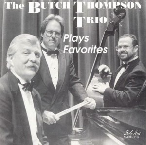 Robbie with the Butch Thompson Trio, 1992