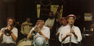 Magnolia Jazz Band in Central City, CO  1981