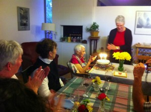 Bernie Plasencia's pre-birthday party