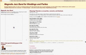 Magnolia Jazz Band A Successful Blog for Wedding and Party Music