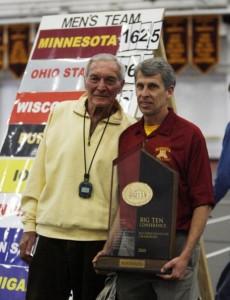 Roy Griak and Steve Plasencia