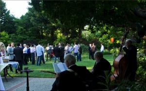 Magnolia Jazz Band at Great Gatsby Party in Atherton, 2012