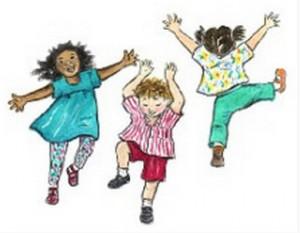 Magnolia Jazz Band likes kids dancing