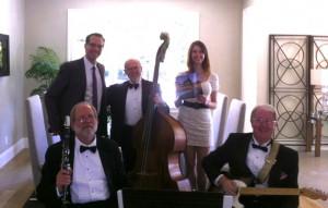 Magnolia Jazz Band in Atherton, 2012