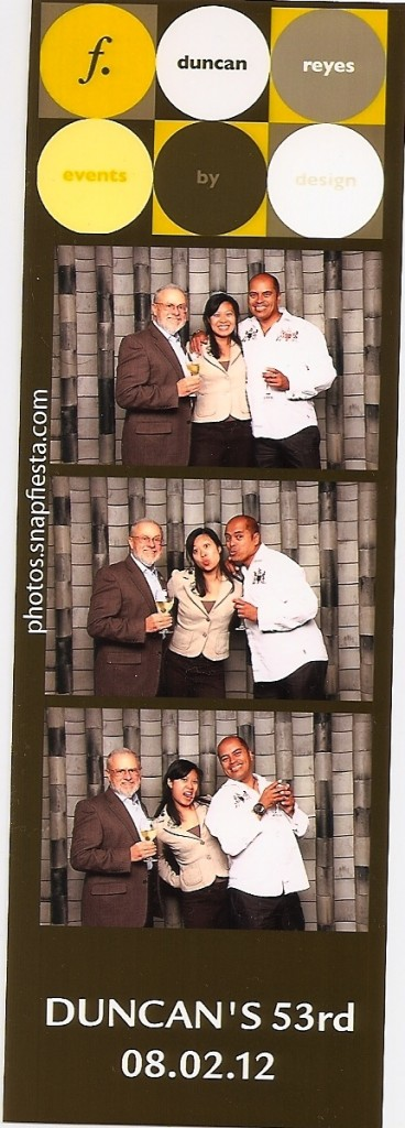 "Robbie Schlosser, Leslie Wong, Duncan Reyes at ""Martini Madness"", 2012"