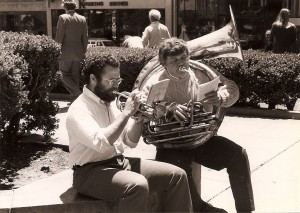 Robbie Schlosser, Alan Jaffe in San Francisco, 1980