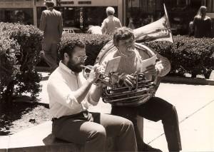 Robbie Schlosser, Alan Jaffe in San Francisco, 1980
