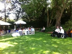 Magnolia Jazz Band, wedding in Healdsburg,  2012