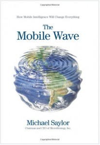 """Robbie Schlosser is reading """"The Mobile Wave"""""""