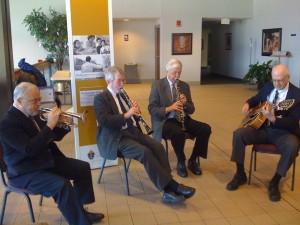 Robbie Schlosser and friends in Minneapolis,  2012