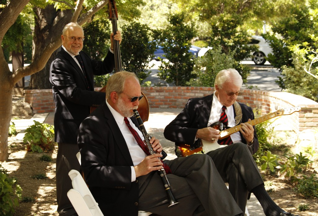 Magnolia Jazz Band in Saratoga, 2014