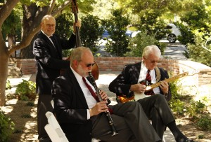 Magnolia Jazz Band Selecting Garden Party Music