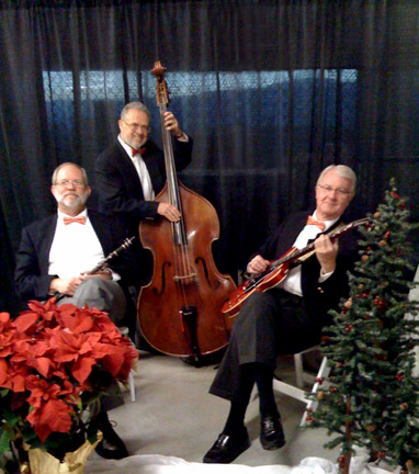 Magnolia Jazz Band in San Jose holiday party, 2008